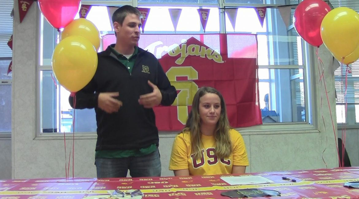 VIDEO: Piper Brockley Signs NLI to USC