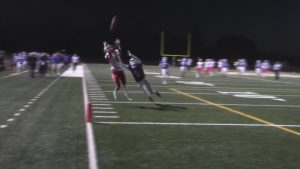 Austin Rapolla with a great catch